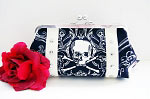 EXCLUSIVE Hold Fast Handbags Skullduggery Clutch