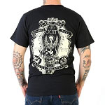 Lucky 13 Ride in Peace Mens Tshirt