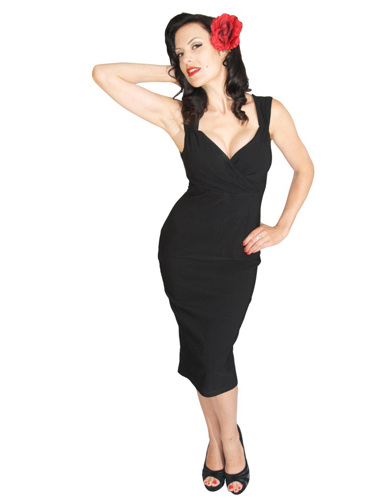 The Diva Dress in Black