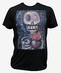 Sacred Heart Men's Tshirt by Artist Abril Andrade