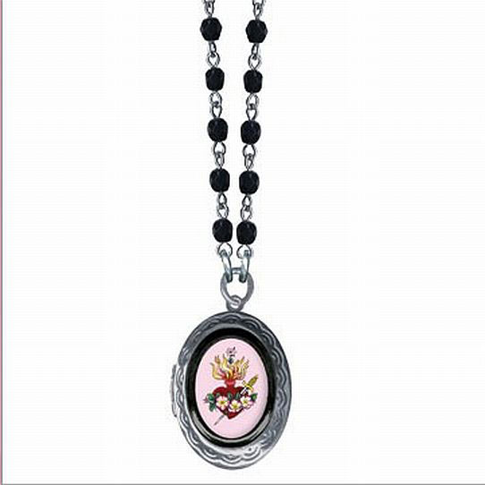 Classic Hardware Small Sacred Heart Necklace