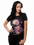 Sin Treat Women's Skull Tshirt