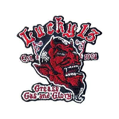 Lucky 13 Grease Gas and Glory Patch
