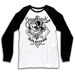 SpeedFreak Holeshot Mens Long Sleeve Raglan Tshirt