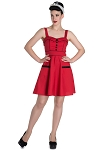 Hell Bunny Vanity Red Mini Dress