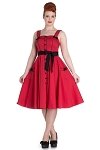 Hell Bunny Red Martie 50's Dress