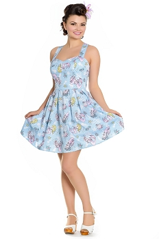 Hell Bunny Andrina Mermaid Mini Dress