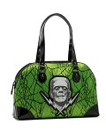 Frankenstein Lace Green Handbag