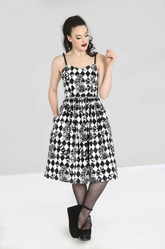 Hell Bunny Hauntley 50s Dress
