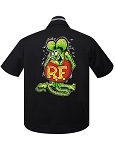 Rat Fink Roth Racer Button Up