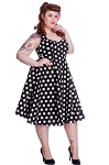 Hell Bunny Black Mariam Dress