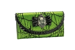 Frankenstein Lace Green Wallet