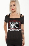 Eternal Love Bride of Frankenstein Lace Tie Top