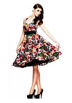 Hell Bunny Mexico 50's Swing Dress