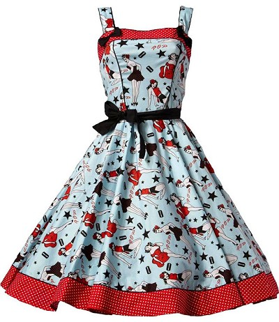 Hell Bunny Dixie 50s Dress