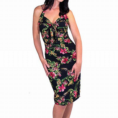 Lucky 13 Leilani Floral Halter Dress