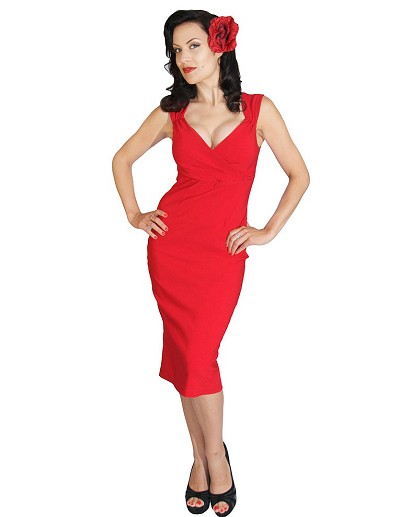 The Diva Dress in Red